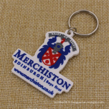 Custom Merchiston Castle School Soft PVC Keychain pour étudiants