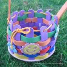 Espuma Craft DIY eva ofício conjunto Traning educacional criança brinquedo do quebra-cabeça eva kit/eva 3D