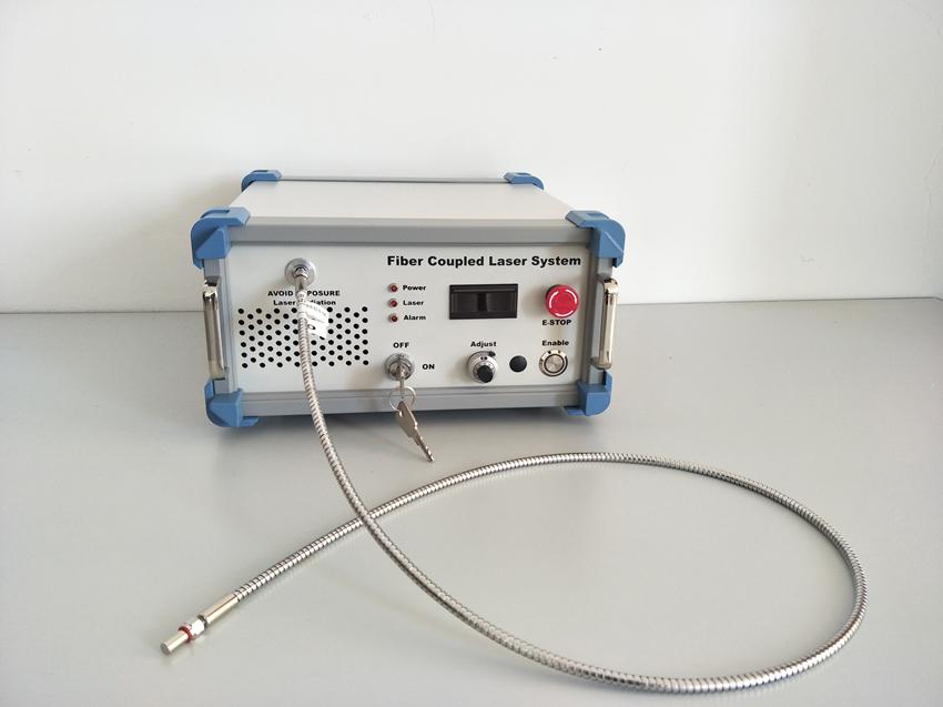 fiber coupling laser