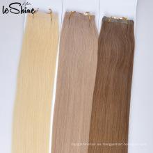 Sugerencias directas de la fábrica I Tip Human Hair Extensions Inclino pelo, pelo humano de la extremidad del clavo 7A, extensiones inconsútiles del pelo de la trama de la piel