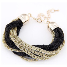 2015 fashion new gold bracelet designs ladies chain bracelet