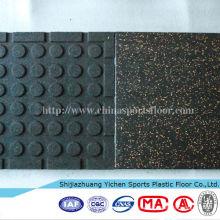 Crossfit Gym Rubber Flooring EMDP Rubber Flooring