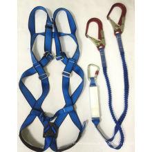 D-Ring de Colete Ajustável com Corda de Segurança