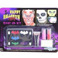 Feliz Halloween maquillaje Hallowmas cosméticos partido de juguete