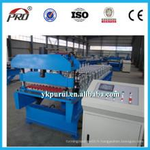 Professionnel de bonne qualité Machine à toit métallique en acier / prix le plus bas Machine à carreaux de toit