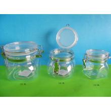 sealed jar  plastic pot  plastic jar  sealed pot