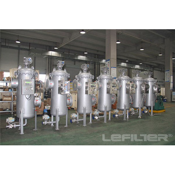 Caixa de filtro de água autolimpante para tratamento de água industrial