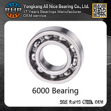 Online sales website of 10*26*8mm 6000 deep groove ball bearing