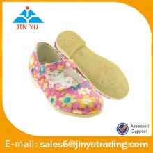 Jolies filles chaussures de fantaisie avec fleur