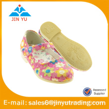 beautiful girls fancy dress shoes with flower