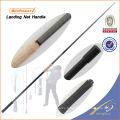 LNH001 Graphite Canne À Pêche Tige De Pêche Blanc Weihai OEM Carpe Pêche À La Poignée Net Poignée