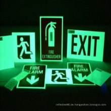 Glow in Dark Sicherheitsfolie / Folie / Aufkleber