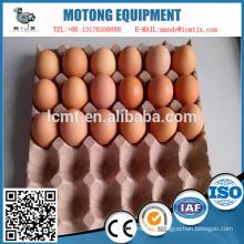 Verkauf von geformten Zellstoff Eier Verpackung Kartons Tablett
