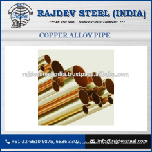 Welded Pipes Round and Square Copper Alloy Pipe 90/10 to Meet All Requirements of Customers