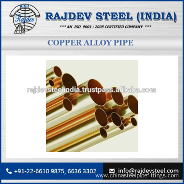 Various Dimensions of Copper Alloy Pipe 90/10 Available for Bulk Purchase