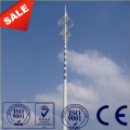30M Galvanized Telephone Steel Pole