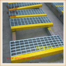 Rejilla de barras de acero / rejilla de acero galvanizado
