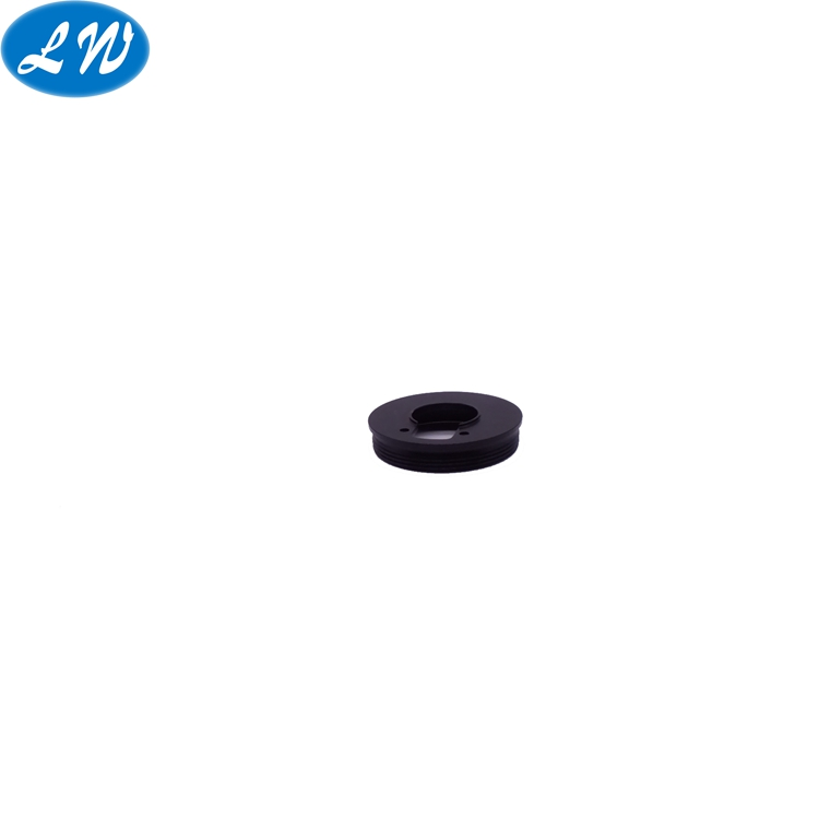 Black Anodized Aluminum Camera Parts