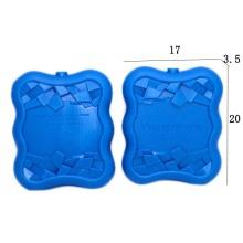 réfrigérant en plastique pour gel pack pour glacière