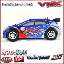 VRX 1/10 escala 4WD RC Rally gasolina controle remoto carro de corrida