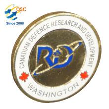 Moneda de encargo del recuerdo de encargo de encargo antigua al por mayor 3D