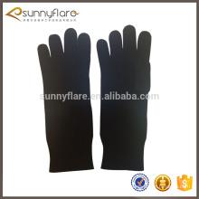 Single color 100 knit pure cashmere gloves