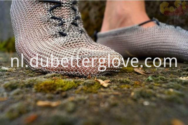 chain mail mesh shoes