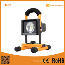 H03 Waterproof 10W Rechargeable LED Flood Light
