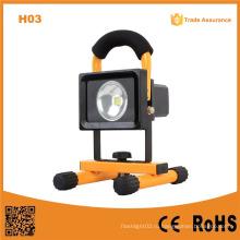 H03 водонепроницаемый 10W перезаряжаемые светодиодный свет потока