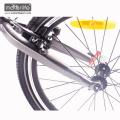 2017 Mais Quente 36v350w 20 '' dobrável bicicleta elétrica barata com bateria escondida, dobrável e-bicicleta