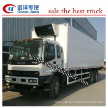 25Ton Euro 4 6X4 Kühlwagen LKW China Lieferant