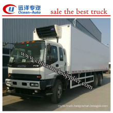 25Ton Euro 4 6X4 refrigerator truck China supplier