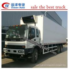 25Ton Euro 4 6X4 caminhão refrigerador China fornecedor