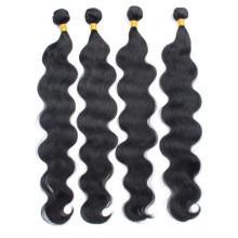 Körperwelle Fabrik Großhandelspreis 5a Klasse reines menschliches Haar