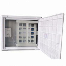 Wall Mounted FTTH Information Box for Indoor and Drop Cable