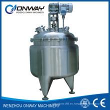 Pl Empaquetamiento de acero inoxidable Mezclador de mezcla Mezclador de aceite Mezclador de mezclas Solución de azúcar Mezclador de pie para industria