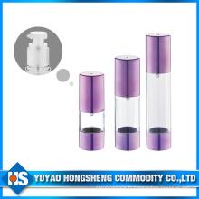 Hs-008b Capacité de 50 ml Appuyez sur la bouteille de pompe sans air en utilisant toute l'eau