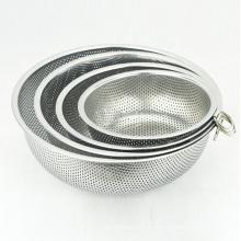5-квартовая металлическая кухонная фурнитура из нержавеющей стали овощная миска дуршлаг