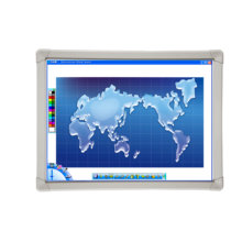 Portable Digital 102''infrared Interactive Whiteboard Harsh Workable For Education