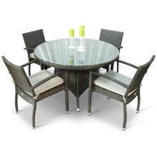 Патио плетеная ротанговая мебель сад обеденный набор