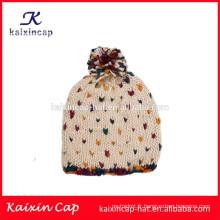 nouveau design en gros personnalisé simple style hiver tricot