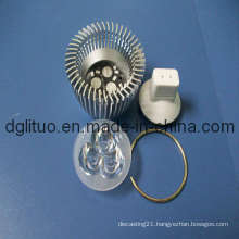 Aluminium LED Spotlight Housing Die Casting Parts