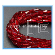 Loose glass rectangle beads glass beads 10-11mm