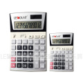 12 Digits Dual Power Office Calculator with Large LCD Display (LC206)