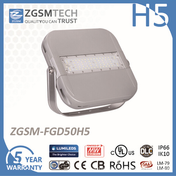 50W 5 Years Warranty LED Floodlight for Outdoor Lighting
