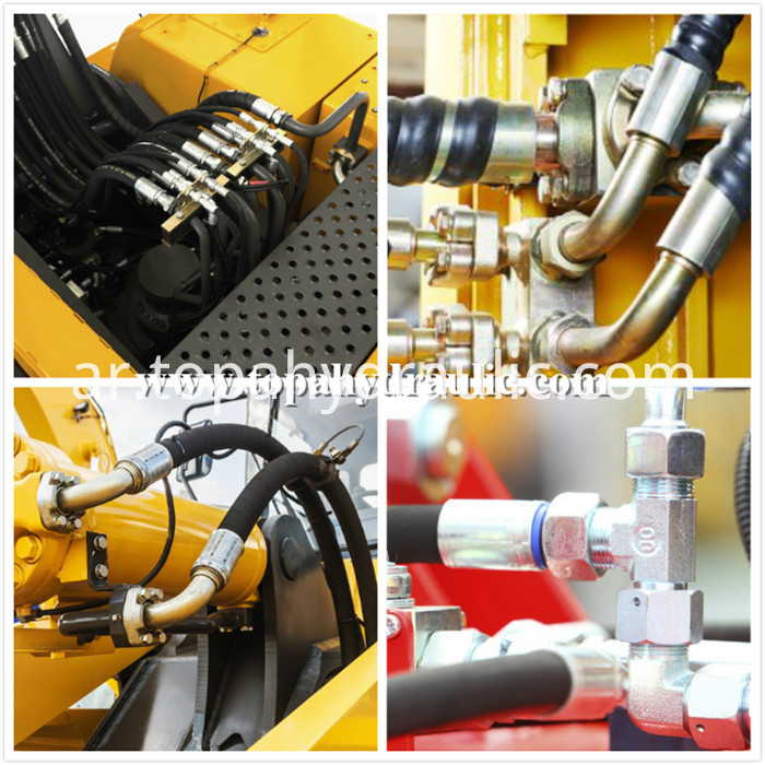 tractor for coal mine hydraulic pipe fittings