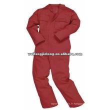 """tissu de sergé de t / c 20x20 108x58 58 """"tissu de vêtements de travail de combinaison de tissu de tissu t / c 65 * 35 tissu entier de tc teints"""