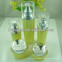 15g 30g 50g Oval acrylic cosmetic face cream jars