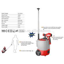 Derniers 700W à base de sol HVLP Power Paint Sprayer Electric Extension Paint Gun GW8179