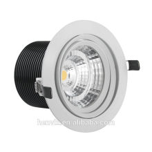 Alta luminosa 80RA 15w levou downlight driver